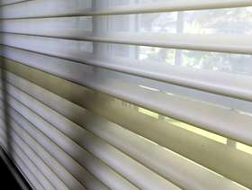 "Freecycle Shades for window - 111""W by 53""H"