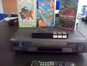 Freecycle Sony VCR