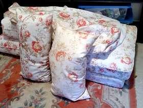 Freecycle Covers and Cushions for Ikea Ektorp 2 seater Sofa