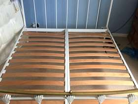 Freecycle Metal king sized bed