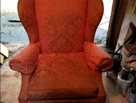 Freecycle Two Winged Fireside Chairs
