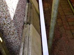 Freecycle White PVC downpipe