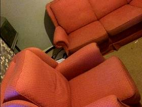 Freecycle Three seater sofa and arm chair