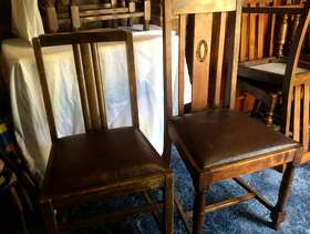 Freecycle 2 Odd Dining Chairs