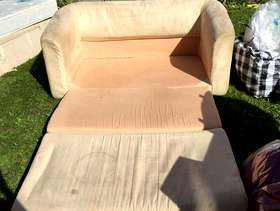 Freecycle Free sofa-bed (light)