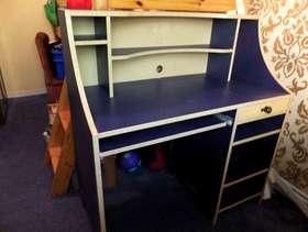 Freecycle Blue desk