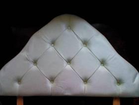 Freecycle Pale Green Single Bed Headboard