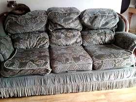 Freecycle 3 seat sofa and 2 armchairs