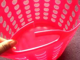 Freecycle Pink small wash basket