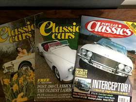 Freecycle Classic Cars magazines