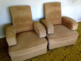 Freecycle Two armchairs
