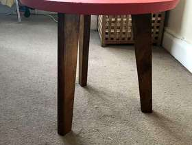 Freecycle Round wooden table