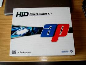 Freecycle HID Xenon Headlight Conversion