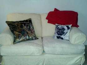 Freecycle Free two seater sofa Ely