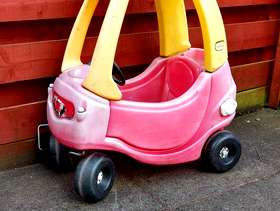 Freecycle Little tikes toddler car