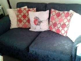 Freecycle 3 seater sofa plus chair