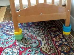 Freecycle Baby bed blocks