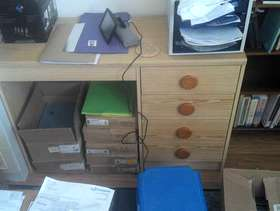 Freecycle Desk with Drawers