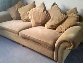 Freecycle 3 seater sofa and arm chair