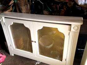 Freecycle Radiator cover / display cabinet