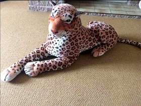 Freecycle Large soft toy leopard