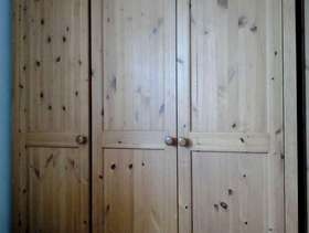 Freecycle Triple pine wardrobe