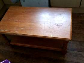 Freecycle Wooden coffee table