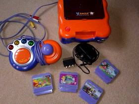 Freecycle Vtech smile TV learning system + 4 games
