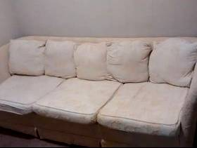 Freecycle Large Beige Sofa