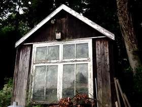 Freecycle Large garden shed