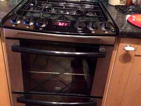 Freecycle Zanussi Double Oven Gas Cooker
