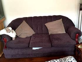 Freecycle 3 seater sofa