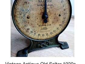 Freecycle 1920's Salter weighing scales (Burnham)