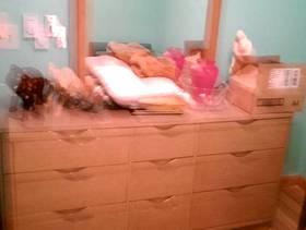 Freecycle Nine drawer dresser w/mirror