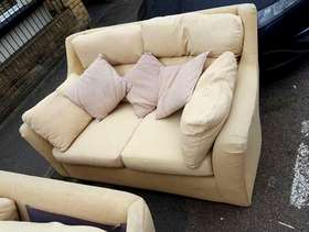 Freecycle 2 matching two seater sofas
