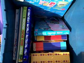 Freecycle Children's books and activity packs