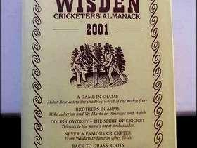 Freecycle Wisden almanack.