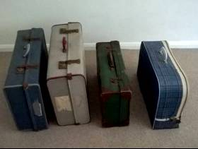 Freecycle Old suitcases
