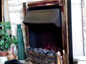 Freecycle Dimplex Lincoln Optiflame Electric Fire.