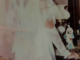 Freecycle Wedding dress