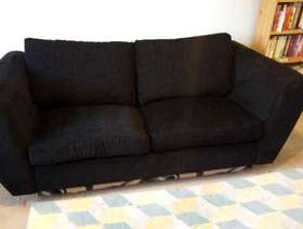 Freecycle Black sofa bed