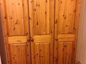 Freecycle Pine wardrobe