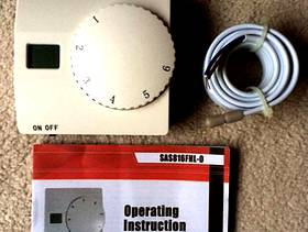 Freecycle Floor Heating thermostat