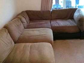 Freecycle 4 piece corner sofa