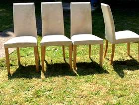 Freecycle 4 Dining Room Chairs