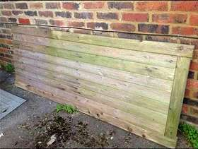 Freecycle Wooden large garden gate