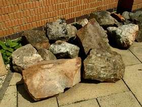 Freecycle Rockery stones