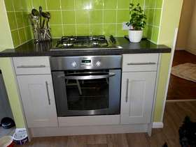 Freecycle Gas hob and electric oven