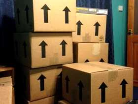 Freecycle Packing boxes