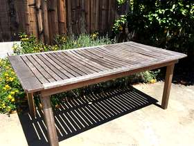 Freecycle Patio table